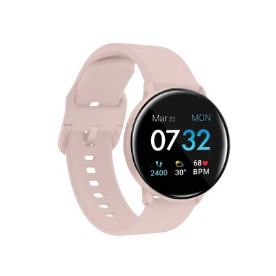 iTouch Sport Fitness Smartwatch - Blush Case with Blush Strap