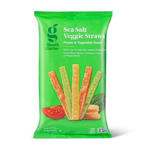 Sea Salt Veggie Straws - 7oz - Good & Gather™ - image 1 of 3