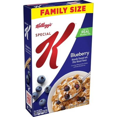 Special K Blueberry Family Size Cereal - 16.9oz - Kellogg's