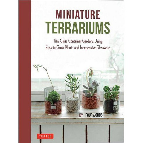 Miniature Terrariums - by  Fourwords (Hardcover) - image 1 of 1