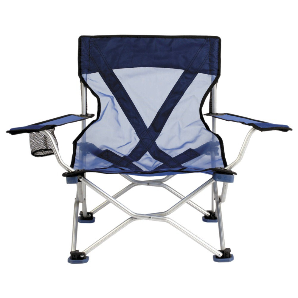 Beach Chair with Carrying Case - Blue