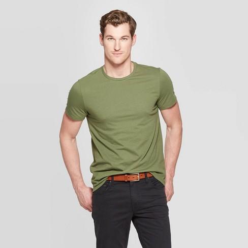 Men's Standard Fit Lyndale Short Sleeve Crew Neck T-Shirt - Goodfellow & Co™ - image 1 of 3