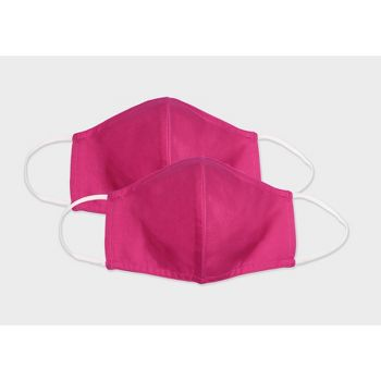 2 Count Adult Fabric Face Mask