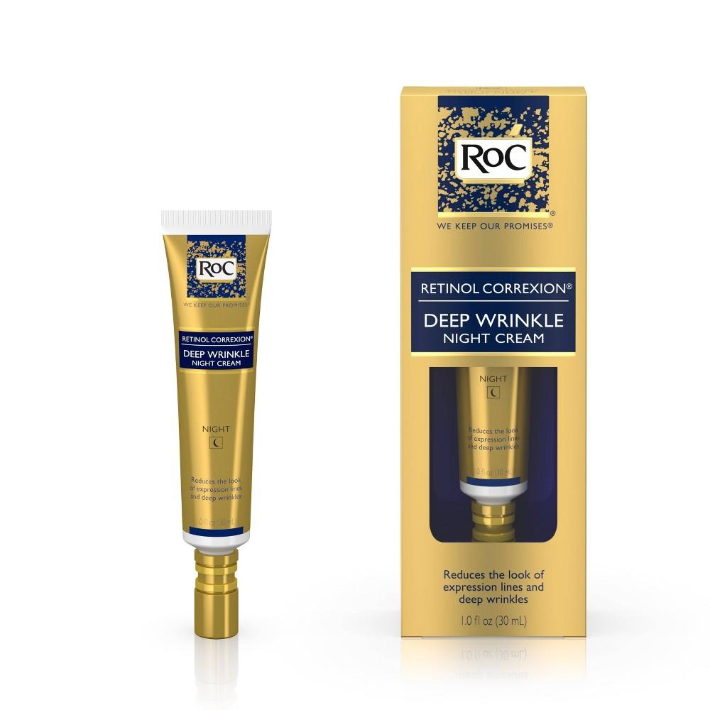 Image of RoC Retinol Correxion Deep Wrinkle Anti-Aging Night Face Cream - 1oz