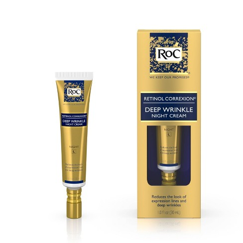 RoC Retinol Correxion Deep Wrinkle Anti-Aging Night Face Cream - 1oz - image 1 of 9