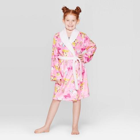 Girls' JoJo Siwa Robe - Pink - image 1 of 3
