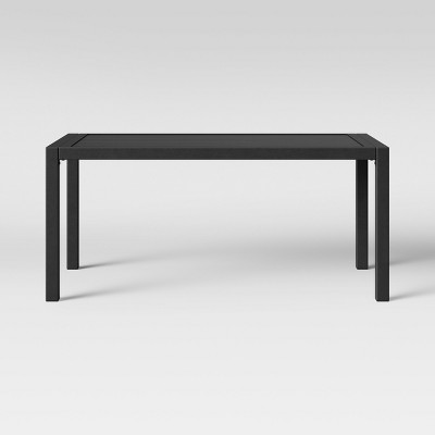 Lunding Slat Top Patio Coffee Table Gray - Project 62™