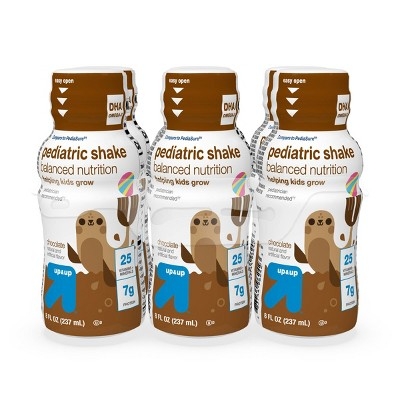 Pediatric Chocolate Shake - 8 fl oz/6pk Each - up & up™