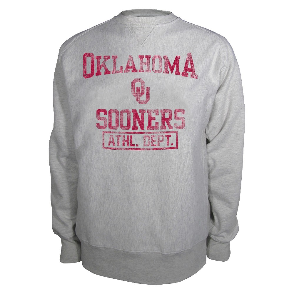 Oklahoma Sooners Men's Sweatshirt Gray M, Multicolored