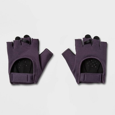 Women's Strength Training Gloves Purple S - All in Motion™