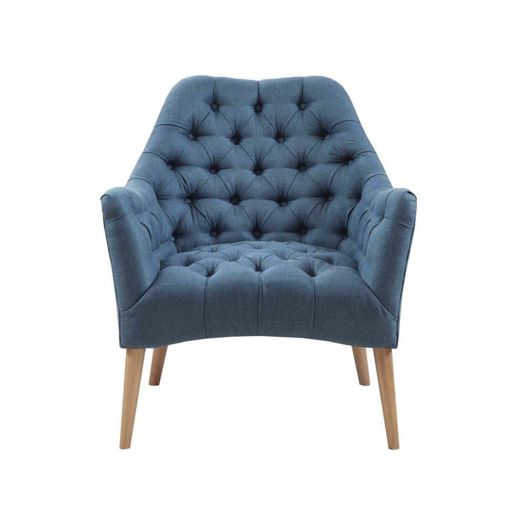 Gomes Tufted Accent Chair Blue was $379.99 now $265.99 (30.0% off)