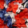 "14"" Patriotic Hydrangea Wreath - National Tree Company - image 3 of 4"