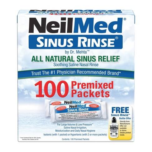 NeilMed Sinus Rinse Regular Refill Packets - 100ct - image 1 of 4