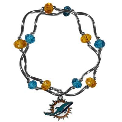NFL Stretch Bead Bracelet