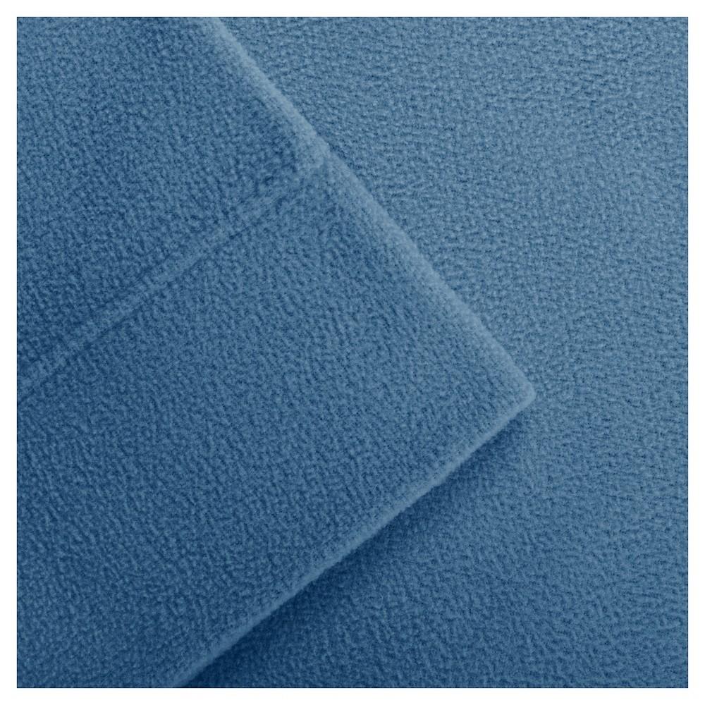 Micro Fleece Sheet Set, Blue