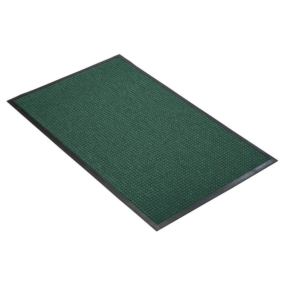Hunter Green Solid Doormat - (4'X6') - HomeTrax