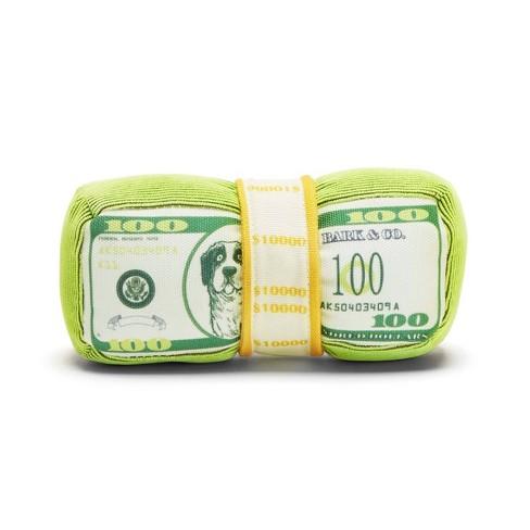 BARK Money Stack Doggo Doggo Bills Dog Toy - image 1 of 5