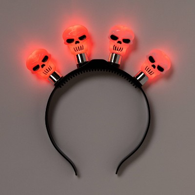 Kids' Skull Halloween Light Up Headband - Hyde & EEK! Boutique™