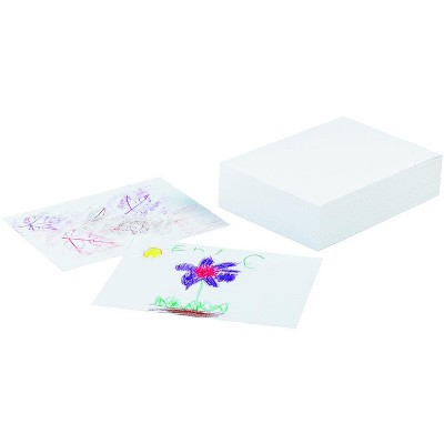 Ecology Recycled Drawing Paper, 12 x 18 Inches, White, 500 Sheets