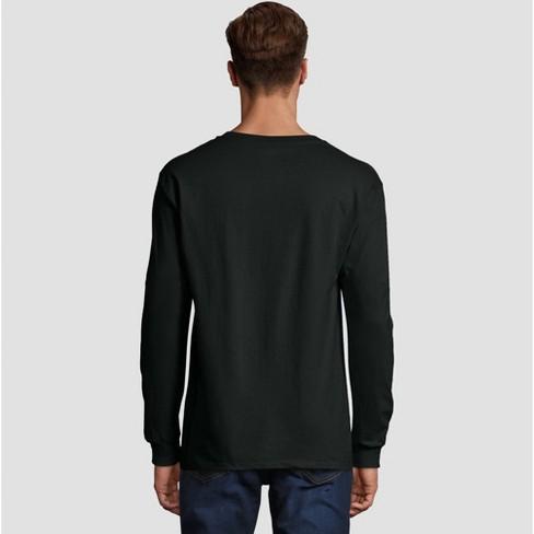 a9dc8ef1e Hanes Men's Long Sleeve Beefy T-Shirt : Target