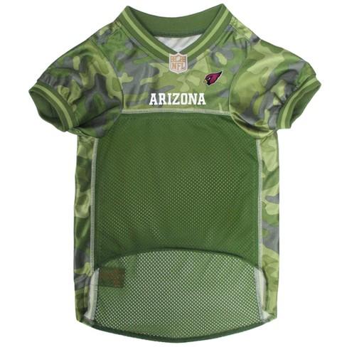 Arizona Cardinals Pets First Camo Pet Football Jersey - Camo M   Target 6f3104111655