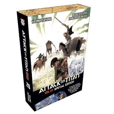 Attack on Titan 20 Manga Special Edition W/DVD - (Attack on Titan Special Edition) by  Hajime Isayama (Mixed Media Product)