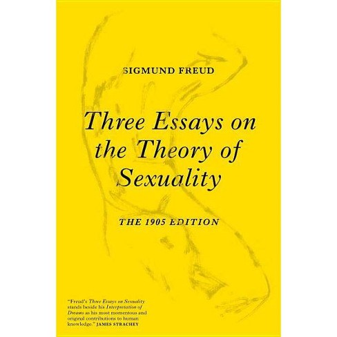 Three Essays on the Theory of Sexuality - by  Sigmund Freud (Paperback) - image 1 of 1
