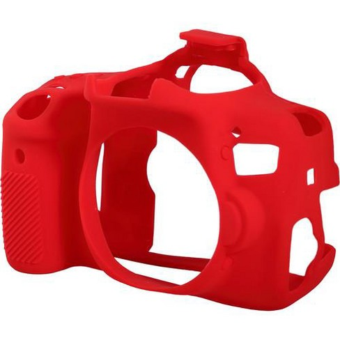 easyCover Silicon Case for Canon 750D, Rebel T6i Cameras, Red - image 1 of 2