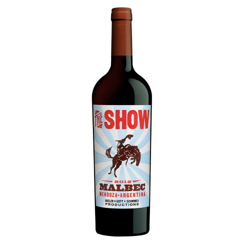 The Show Malbec Red Wine - 750ml Bottle - image 1 of 1