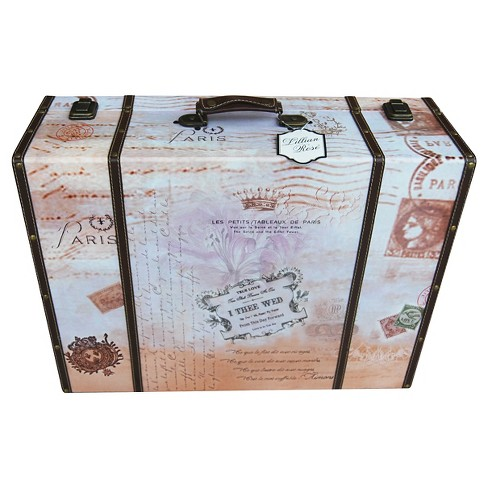 True Love Suitcase Card Box - image 1 of 1
