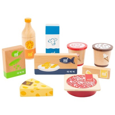Small Foot Wooden Toys Cold and Frozen Products Playset