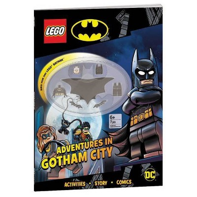Lego(r) Batman(tm): Adventures in Gotham City - (Activity Book with Minifigure) by  Ameet Publishing (Paperback)