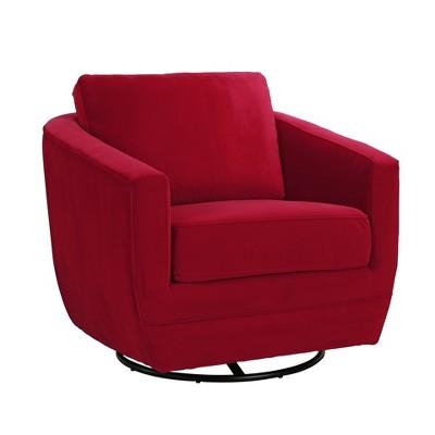 Karla Dubois Gogh Accent Chair - Candy Apple