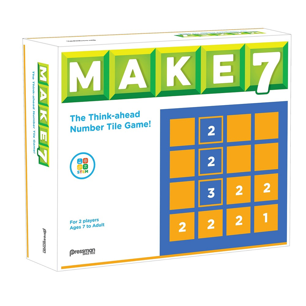 Make 7 Number Game, Kids Unisex