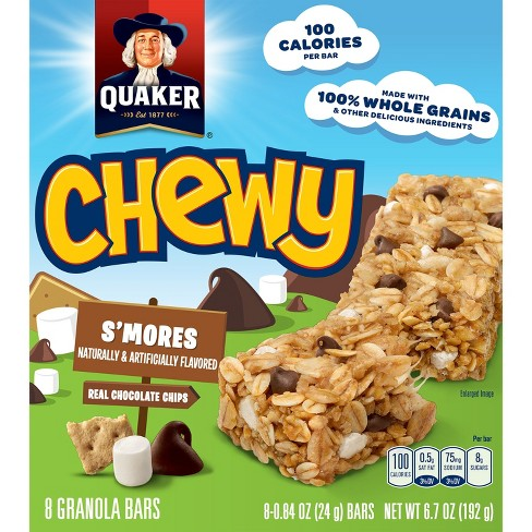 Quaker Chewy Smores Granola Bars - 8ct - image 1 of 7
