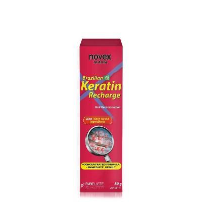 Novex Brazilian Keratin Recharge Tube Leave in Conditioner - 2.8 fl oz
