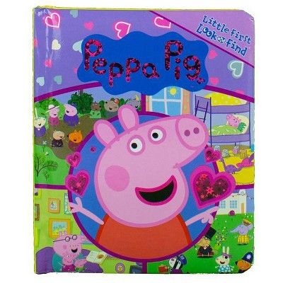 Peppa Pig Little First Look and Find (Board Book)
