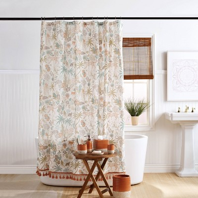Wild Garden Shower Curtain - Destinations