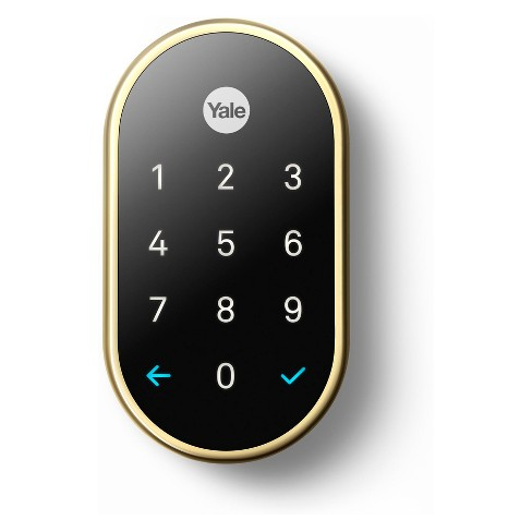 Nest x Yale Lock (Polished Brass) with Nest Connect - image 1 of 4