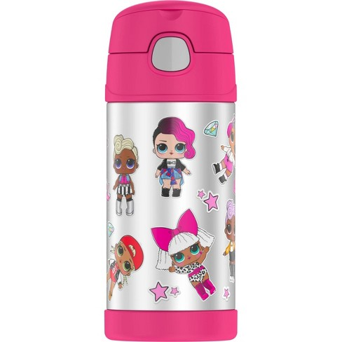 Thermos L.O.L. Surprise! 12oz FUNtainer Water Bottle - Pink - image 1 of 4
