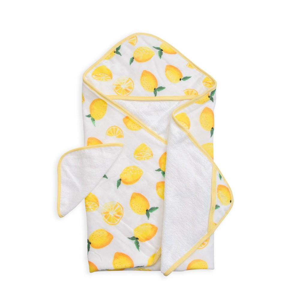 Image of Little Unicorn Hooded Towel - Lemon, Multi-Colored