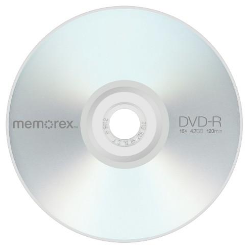 Memorex 100pk DVD-R Tote : Tar...