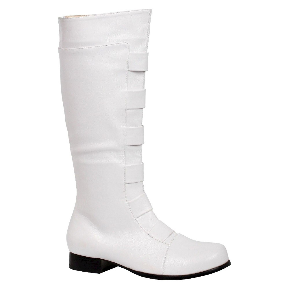 Image of Halloween Men's White Boot Costume - Small