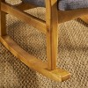 Benny Mid Century Modern Rocking Chair - Christopher Knight Home - image 3 of 4