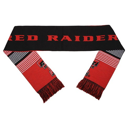 NCAATexas Tech Red Raiders Forever CollectiblesReversible Split Logo Scarf - image 1 of 2