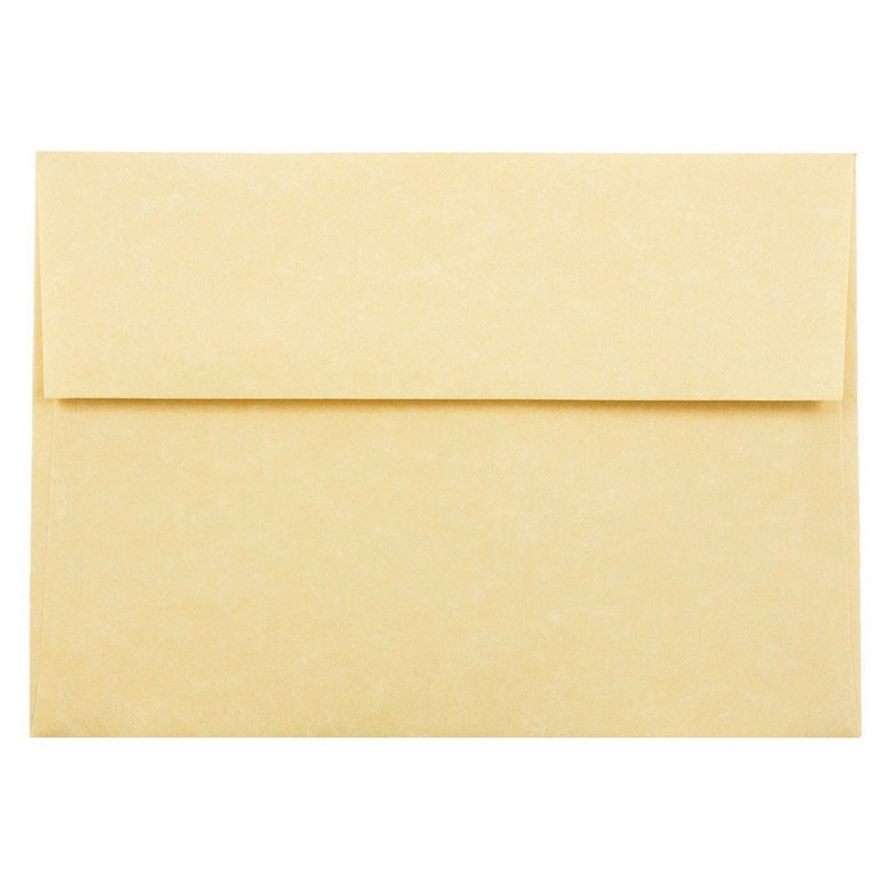Jam Paper Envelopes A7 50ct Parchment - Gold