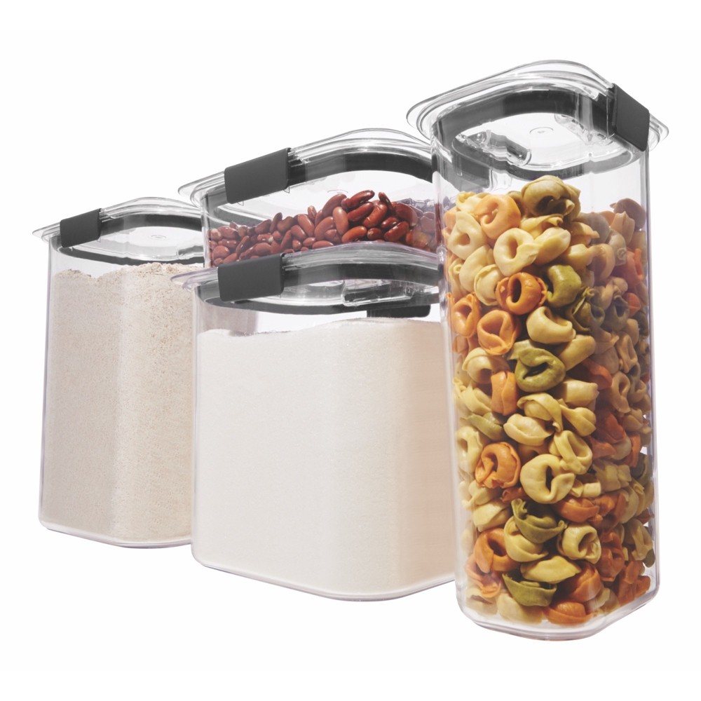 Image of Rubbermaid 8pc Brilliance Pantry Organization & Food Storage Containers with Airtight Lids