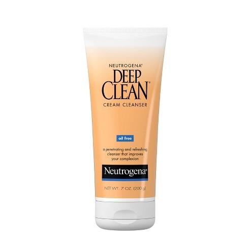 Neutrogena Deep Clean Cream Cleanser- 7 fl oz - image 1 of 4