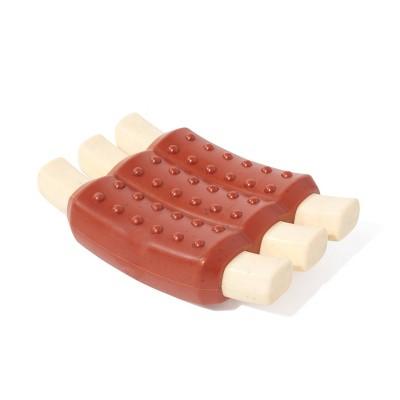 BARK Super Chewer BBQ Ribs Dog Toy - Wreck of Ribs