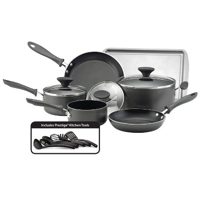 Farberware Reliance 15pc Cookware Set Black